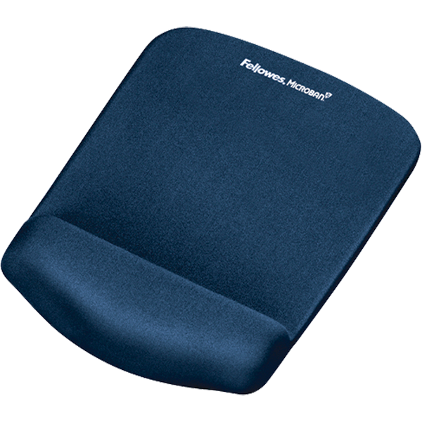 fellowes tapis de souris avec repose poignets plushtouch bl chapier. Black Bedroom Furniture Sets. Home Design Ideas